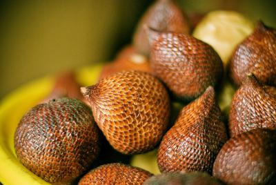 tropical fruit bali snake fruit