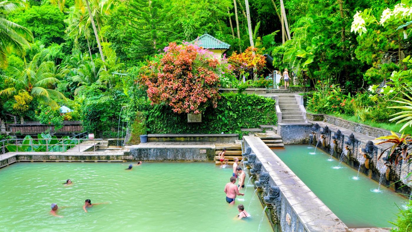 Bali, Indonesia: Hot Springs Banjar